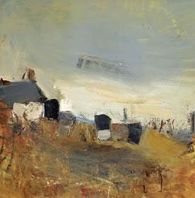 Cottage and beehives - Joan Eardley (1921-1963)