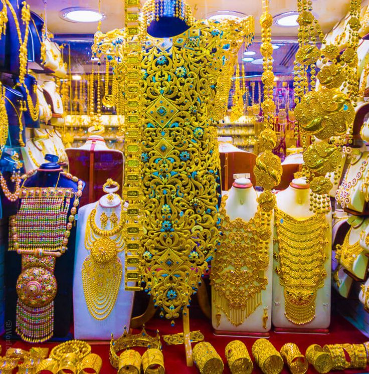 The Gold Souk is among the tourist attractions of Dubai and the Marketplace has on an average 10 tons of gold for trade Daily. Top 10 Amazing Dubai Attractions - Explore Things to Do in Dubai