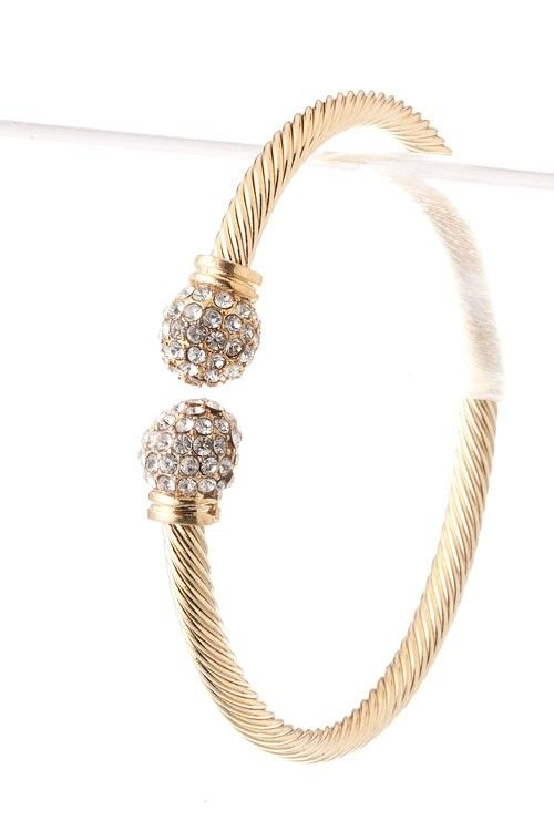 Absolutely love this bracelet!!!! The Rachael Cable Bracelet dresses up every stack.