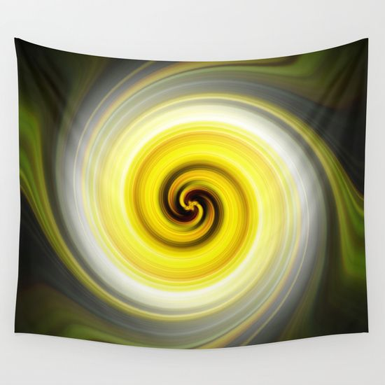 Yellow Twirl.  Available in many other products by Deborah Janke