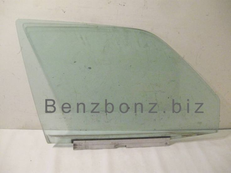 Glass - W124 Right Front Door Mercedes 300e 1247200418