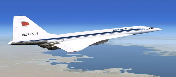 ТУ-144 | Самолет, Гражданская авиация и Конкорд