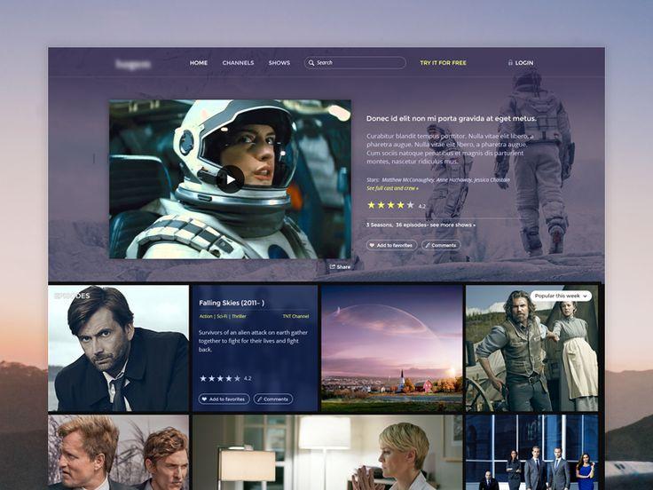 Video / Movies Website .