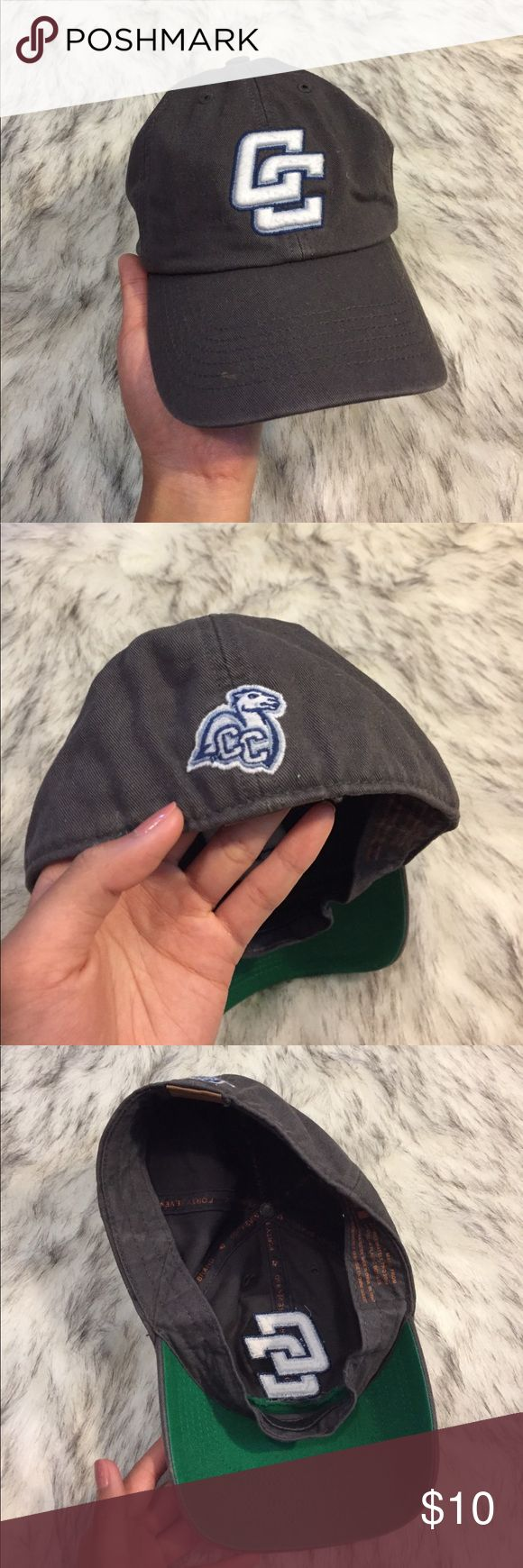 Connecticut College Hat Size L, made of recycled materials Brandy Melville Accessories Hats