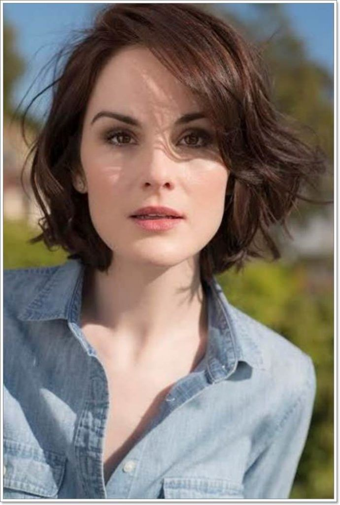 101 Best Hairstyles For Square Faces That You Can Try Today Square Face Hairstyles Wavy Bob Hairstyles Hairstyle For Square Face
