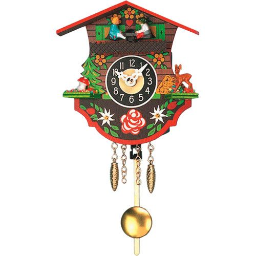 Alexander Taron Engstler Battery Operated Wall Clock With Music Chimes
