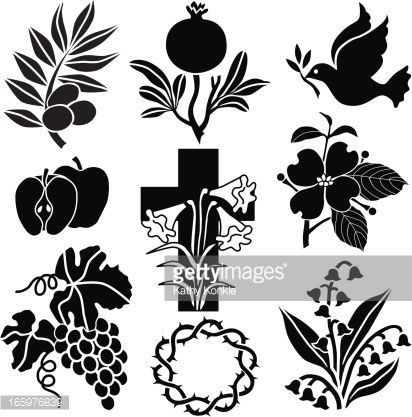 symbols flowers silhouette vector - Buscar con Google