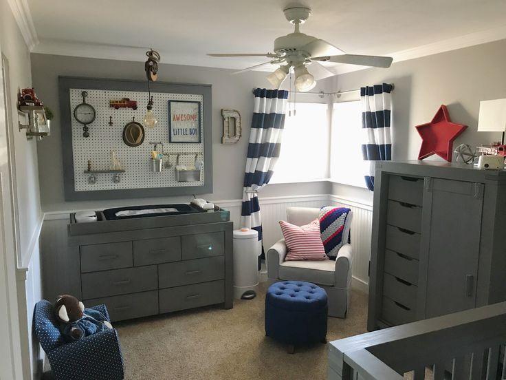 Best 25 Navy Gray Nursery Ideas On Pinterest Navy