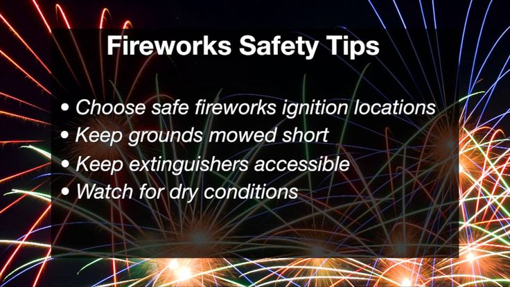 John Weir has fireworks safety tips in Naturally Speaking.