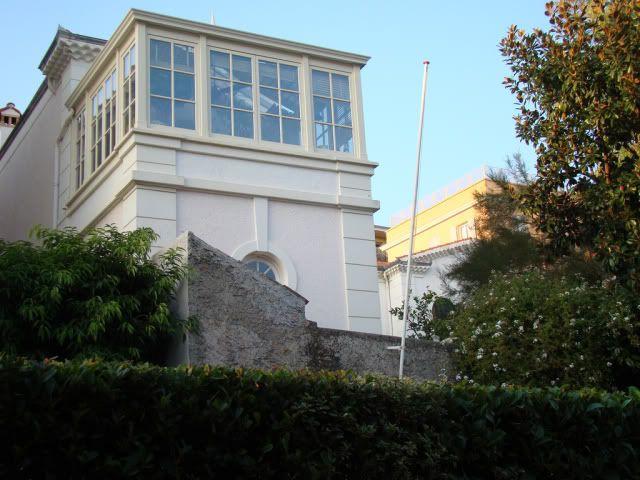 Princess Caroline's home, sur le Rocher,Monaco