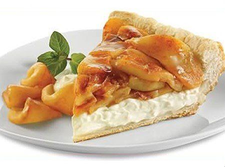 Receita de Torta de Maçã - massa folhada, canela-da-china em pó, açúcar, Cream Cheese , maçã...