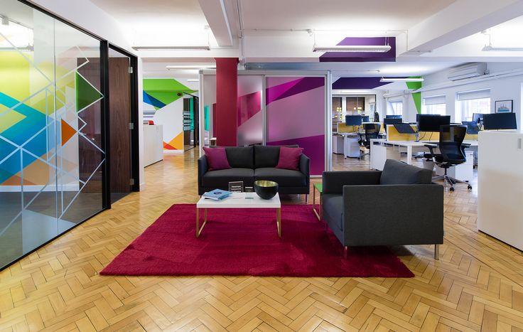 Valianty Office Interior -  #officemural #glassmanifestation #digitalwallpaper #wallpaper #glassvinyl