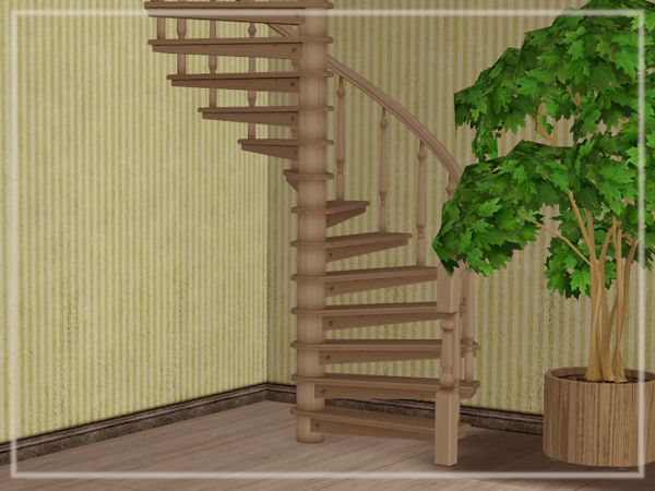 Next, the Endless Winding Stairs that came with AL in 5 of iCad's wood colors. AL is required for these. ▶http://www.mediafire.com/file/v3ern068yvcdlic/keoni-endless+winding+stairs.rar
