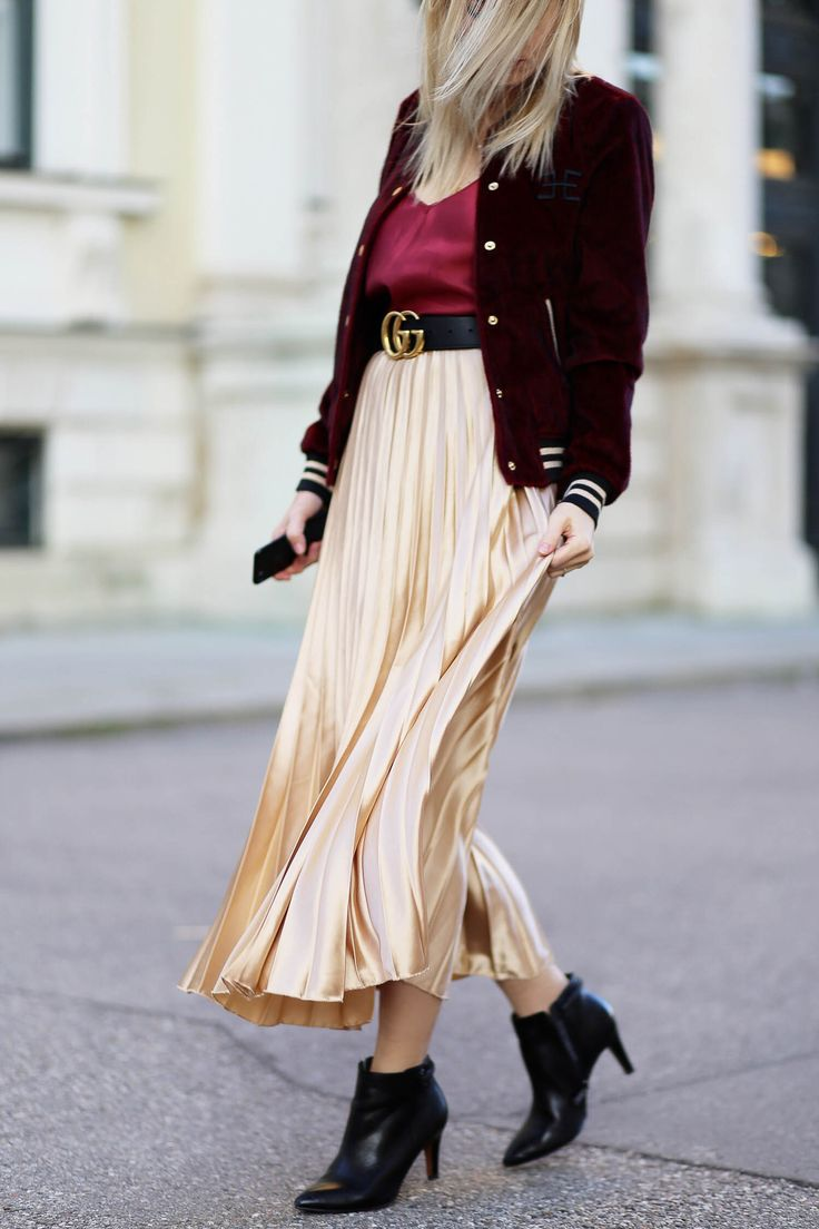 Rote hose outfit mann
