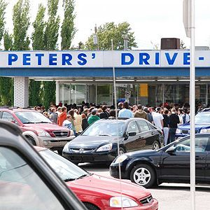 Peter's Drive In - Calgary AB I can still taste the burgers and shakes that I enjoyed (several times) in 2008 during some of my frequent work related trips