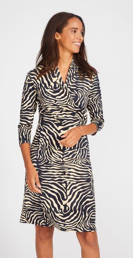 J.Mclaughlin Panama Wrap Dress in Savannah