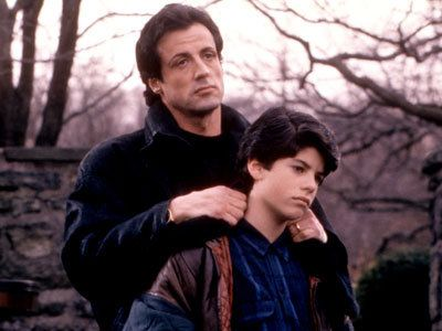 Sylvester and Sage Stallone in 'Rocky V' (Photo: Everett Collection)  So sad about Sage's passing.....