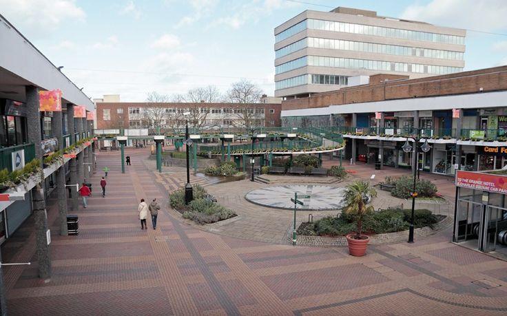 Bracknell town centre.