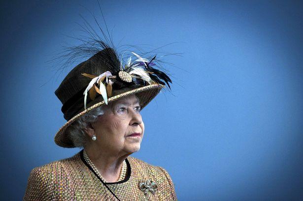 Queen Elizabeth II at King's College London