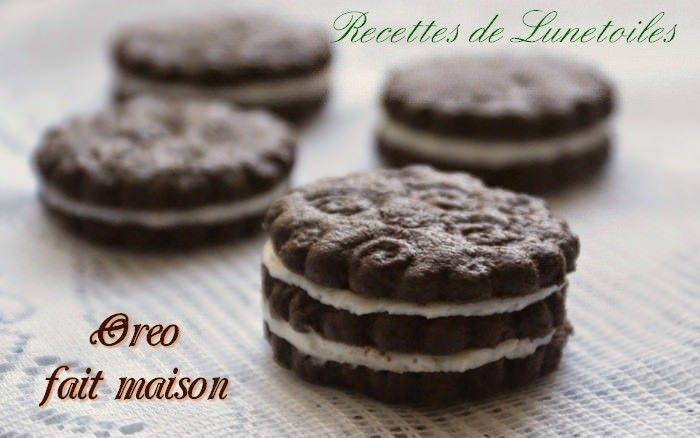 Biscuit oreo fait maison Bonjour tout le monde,  Qui d'entre vous n'aime pas les biscuits oreo?...