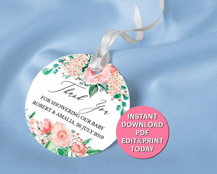 round favor tag 2 u0026quot  circle thank you gift tag  bridal