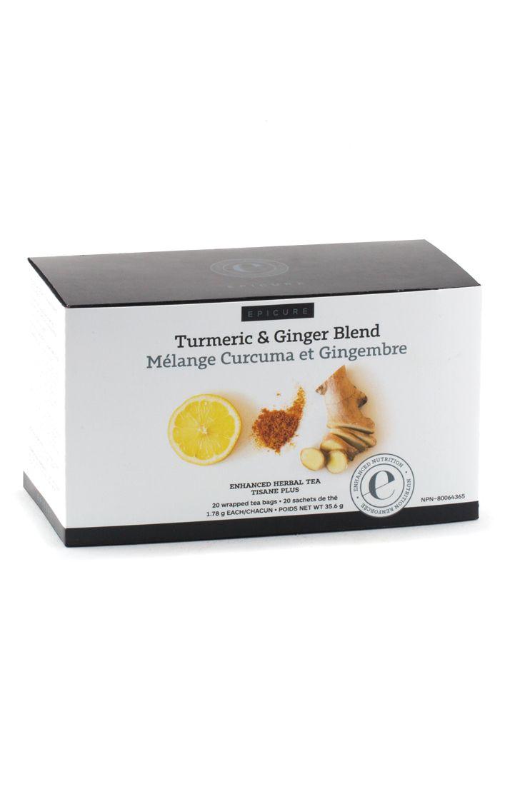 Turmeric & Ginger Blend Enhanced Herbal Tea