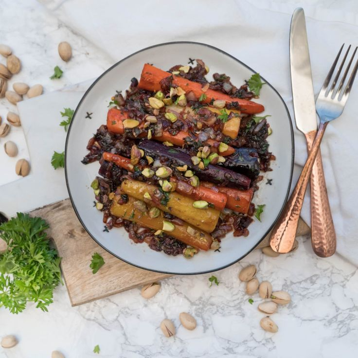 Chuck's Roasted Carrots - Amidst the Chaos