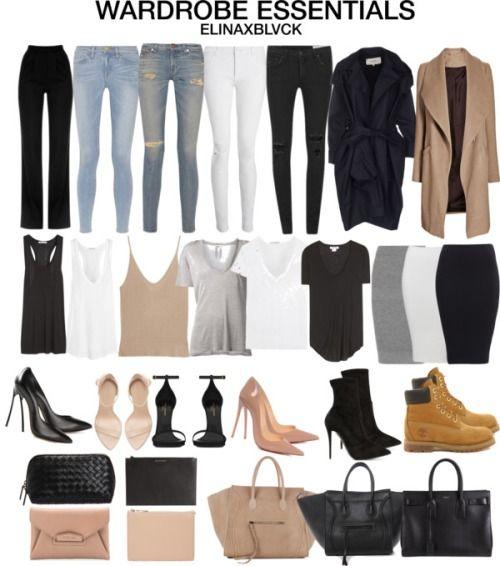 #Neutrals. Wardrobe Essentials via elinaxblvck