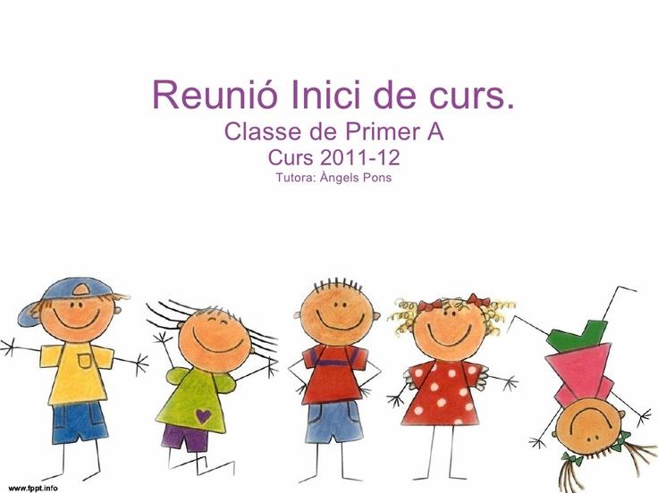 reunio-inici-de-curs by PrimerAmf via Slideshare