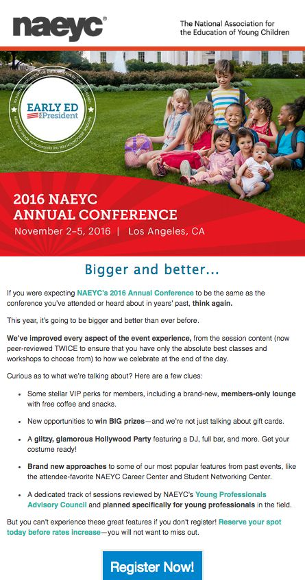 15 best naeycs 2015 annual conference expo images on pinterest if you were expecting naeycs 2016 annual conference to be the same as the conference you malvernweather Gallery