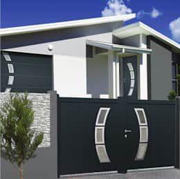 Projekty, nowoczesne Okna i drzwi zaprojektowane przez Neo10.com