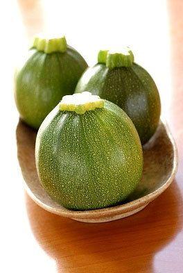 Organic Round Zucchini Squash Heirloom Vegetable Seeds. $2.35, via Etsy.
