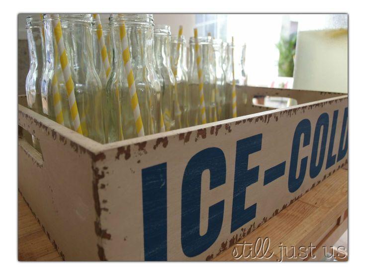 QT Gold Coast welcome stand of fresh lemonade