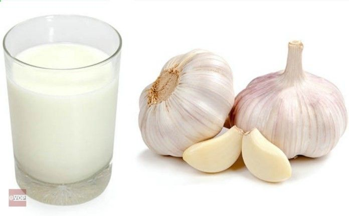 Garlic Milk- Cures Asthma, Pneumonia, Tuberculosis, Cardiac Problems, Insomnia, Arthritis, Cough And Many Other Diseases