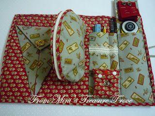 Mini's Treasure Trove: Home Sweet Home/Sewing Accessory Book