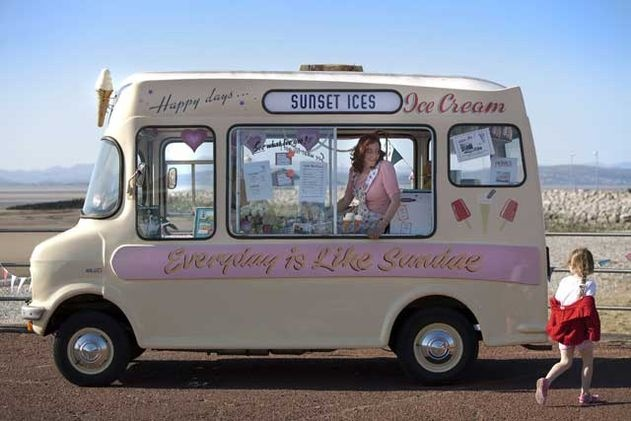 Vintage Ice cream van