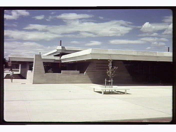 Dickson Library. Canberra, Australia 1968.