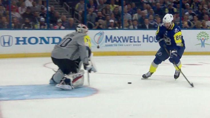 Kucherov posts hat trick in front of home crowd - ESPN Video