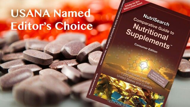 3rd party proof of excellence of USANA