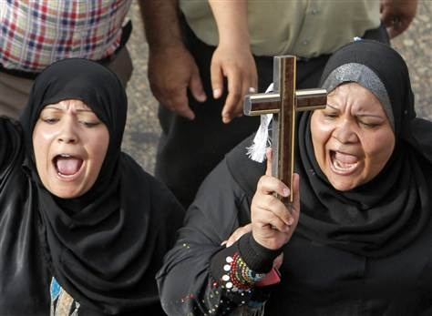 Egypt's Coptic Christians say they are 'no longer safe' - World News