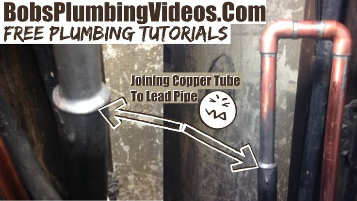 Water Pipe Leak Repair / Joining Copper & Lead