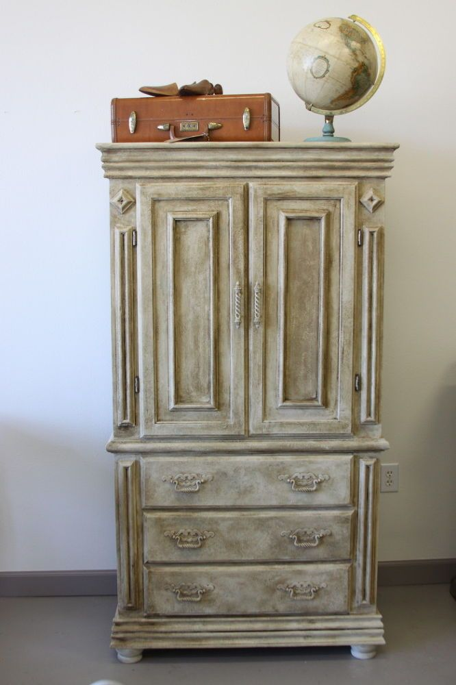 Kitchen Armoire Rustic