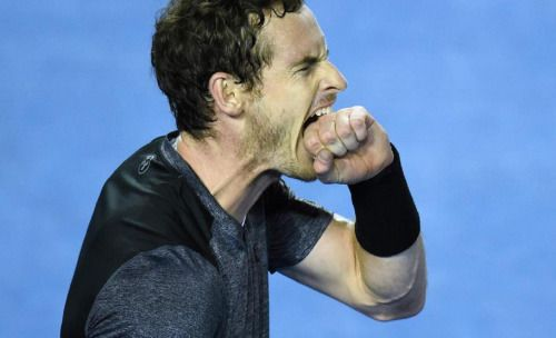 Andy Murray advances to his 5th Australian Open tennis final... #AndyMurray: Andy Murray advances to his 5th Australian Open… #AndyMurray