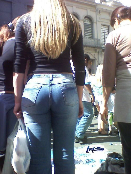 Ass in jeans gallery