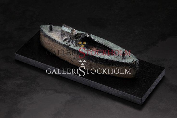 Bertil Vallien - Glaskonst - Limiterat Blackship Beställ här! Klicka på bilden.