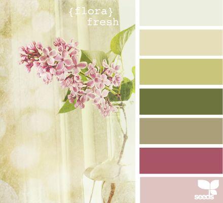 flora fresh.: Color Palettes, Design Seeds, Color Inspiration, Color Combos, Color Schemes, Beautiful Color, Colour Palette, Color Combination