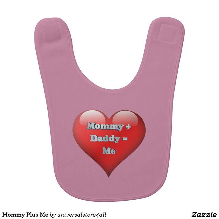 Mommy Plus Me Baby Bibs