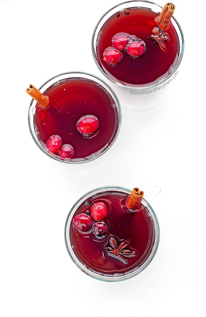 Spiced Cranberry Hot Toddy - The perfect drink to enjoy at the end of a chilly day and will have your home smelling wonderful!