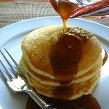 Home made pancake syrup. This was delicious. I subbed sugar in the raw and a light corn syrup. You could probably use artificial sweetener also.