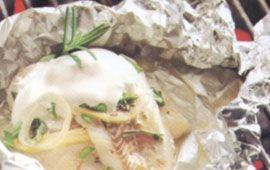 Fisk i folie (4 port) 440kcal/portion